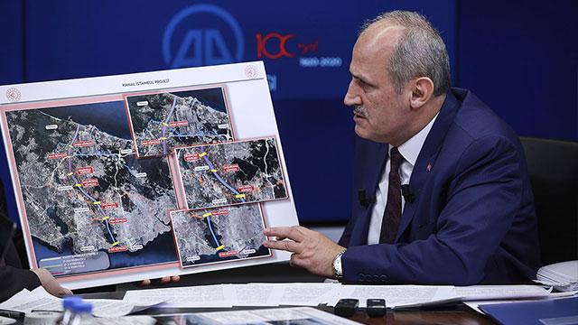 Kanal İstanbul'dan yılda 5 milyar dolar gelir sağlanacak