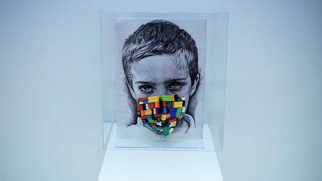 Baksı'da 'Maske/Çağrışımlar' sergileniyor