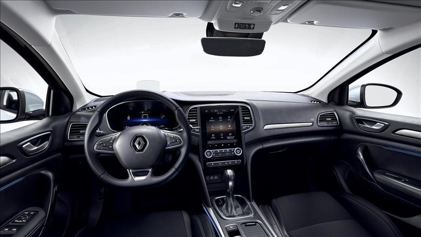 Yenilenen Renault Megane sedan satışa sunuldu