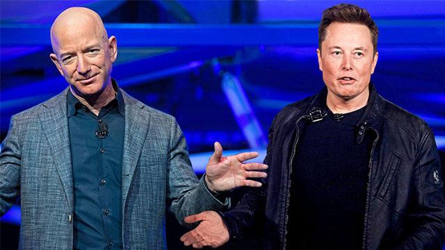 Elon Musk koltuğu Jeff Bezos'a kaptırdı