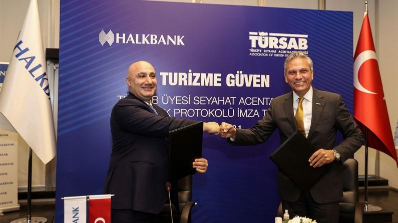 Halkbank ile TÜRSAB'dan seyahat acentelerine destek paketi