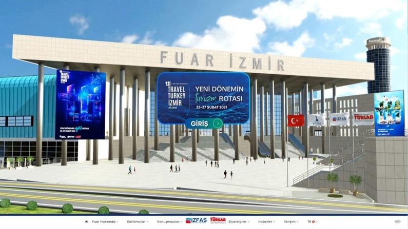 Türkiye'nin ilk sanal turizm fuarı İzmir ile açıldı